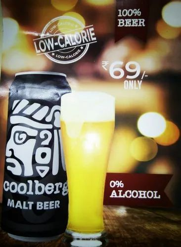 Coolberg Beer (0% Alcohol)