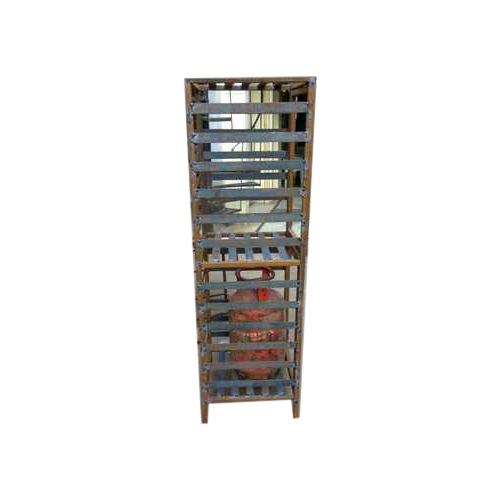 2 Tier Gas Cylinder Storage Rack