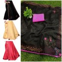Zoya Silk With Velvet Patch Saree