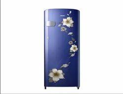 Blue Samsung RR19R2Y22U2 Refrigerator, Electricity