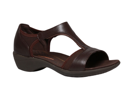 590c4e3e4bb1f3 Hush Puppies Brown Heeled Sandals For Women F66443920000ED