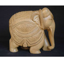 Decorative Wooden Carved Elephant