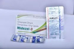 Omeprazole 20mg,Domperidone 10mg (Tablet In Capsule Tecnology)