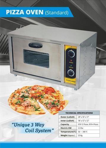 Electric Single Door Pizza Oven, Size: Medium