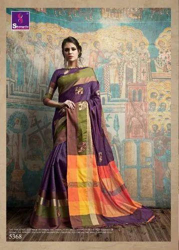 Tanvee Silk By Sangrila Saree