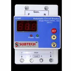 SUBTECH Digital Current Limiting Device, Dual Source, 40A