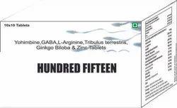 Yohimbine GABA L Arginine Tribulus Terrestris Ginkgo Biloba & Zinc Tablets