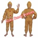 Kids Ginger Bread Costume