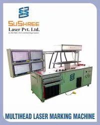 Multi Head Laser Marking Machine