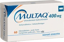 Multaq 400 Mg (Dronedaronum Hydrochloridum Tablets)