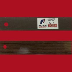 Lorraine Walnut High Gloss Edge Band Tape