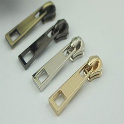 Polished Metal Zipper Puller