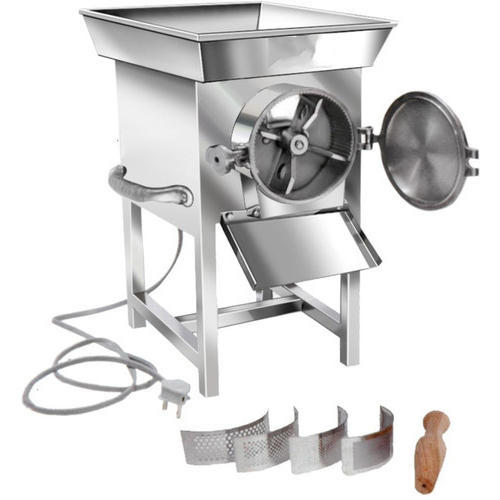 Stainless Steel Gravy Machine, Capacity: 5 kg per 10 minutes