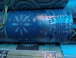 Blue PVC Carpet