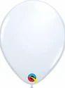 Qualatex 5 Inch Round White Balloons