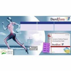 Paracetamol Diclofenac Potassium & Serratiopeptidase Tablets