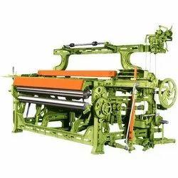 Semi Automatic Textile Power Loom Machine