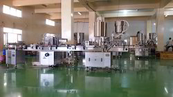 Automatic Sharbat Filling Machine