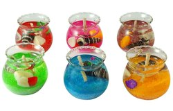 Glass Matki Candles