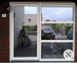 Fortune UPVC Fix And Casement Door, Frame Color: White, Glass Thickness: 5 Mm