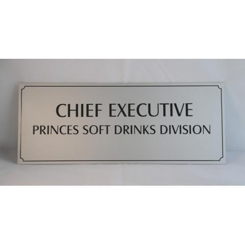 Name Plate Anodized Aluminum Name Plate Manufacturer