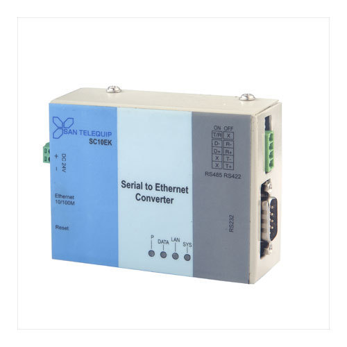 RS232 or RS485/422 to Ethernet Converter