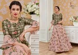 Eba Lifestyle Presents Western Vol 4 Wedding Collection Gown Kurti