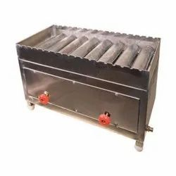 Ss202 Also Available Ss304 2 Stainless Steel Tandoor, Shape: Rectangle