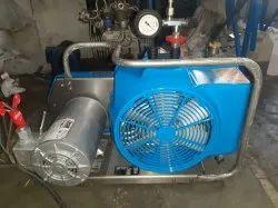 3 Bauer Junior 2 Breathing Air Compressor, Air Tank Capacity: 9, Discharge Pressure: 300bar
