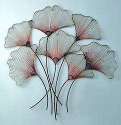 Decoration Iron Wall Decor Flower Bunch