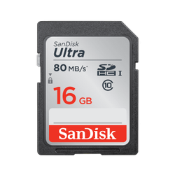 SanDisk SDHC 16 GB Memory Card, Model Name/Number: Ultra