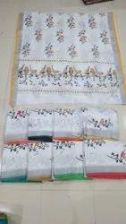 Lenin Cotton Handloom Saree