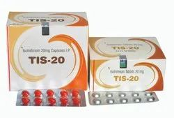 Finished Product Isotretinoin 20mg Capsules For Clinic,Hospital, Packaging Type: Blisters