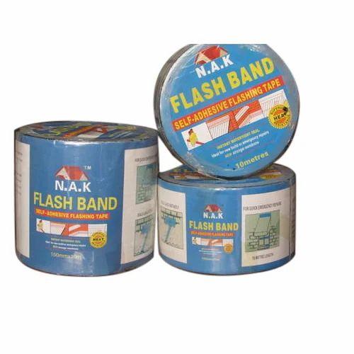 Flash Band Black Self Adhesive Bitumen Flashing Tape | ID: 17519318933