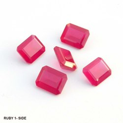 Cubic Zirconia Red Square