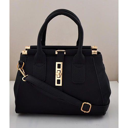 Black Plain Beautiful Hanging Bag