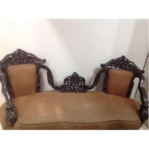 Brown 3 Seater Sofa Set