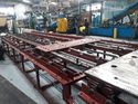 Rubber Press Mould Handling