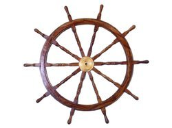 Nautical Special Class Wooden Ship Wheel