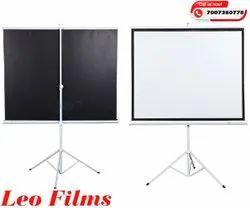White fabric Projection Screen Services, in Delhi