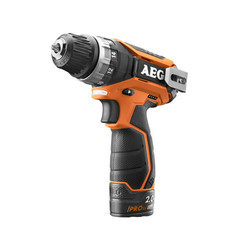 Compact Drill / Driver 2-speed With 2 X Li-ion Batteries And Removable Chuck