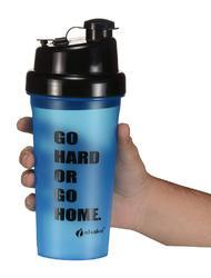 Hercules Blue Black Shaker Bottles