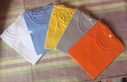 Plain Sarena Polyester T-Shirts For All Event