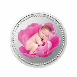 Gift for a Newborn MMTC Silver Coin 10 gm.