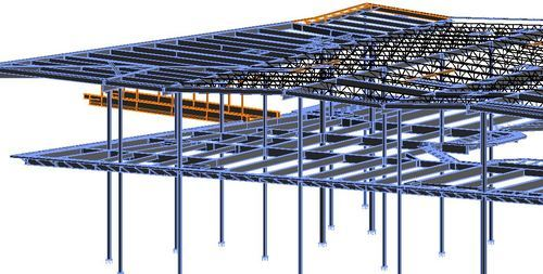 2d Drafting And Detailing : Structural engineering structural bim modelling services silicon