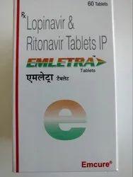 Emletra Lopinavir & Ritonavir Tablets