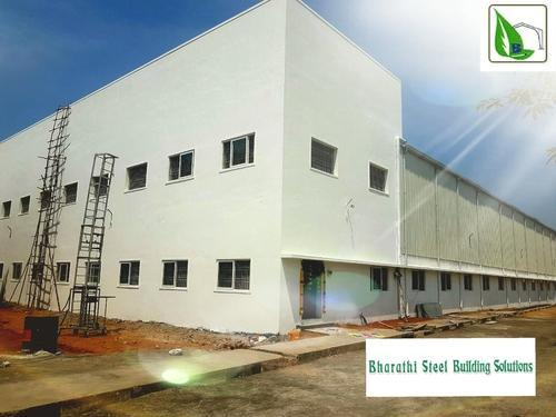 Steel Peb Buildings Rs 110 Square Feet Bharathi Steel