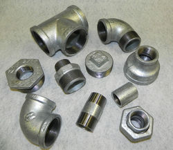 Galvanized Malleable Iron Pipe Fittings, Size:3/4 & 3 Inch