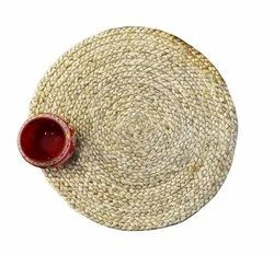 BRAIDED JUTE ROUND TABLEMATS