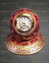 Marble Clock  Round